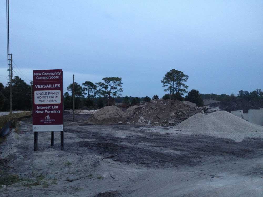 Versailles Sanford Construction Update