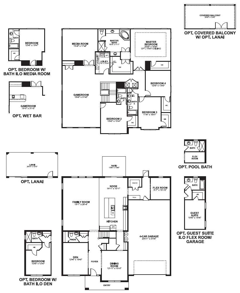grandview floorplan versailles sanford